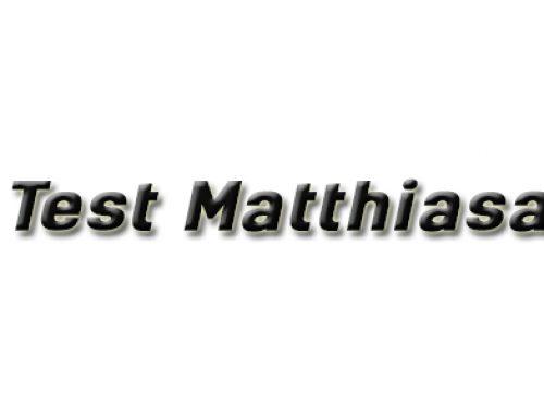 Test Matthiasa