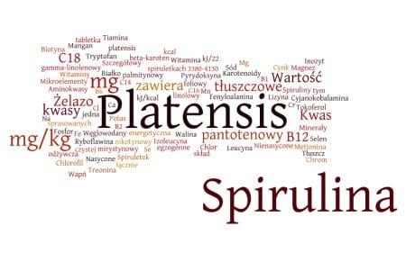 spirulina platensis skład