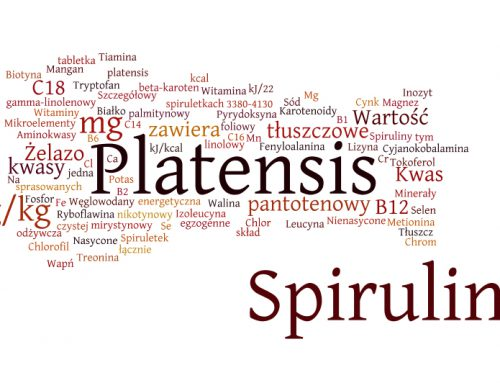 Spirulina platensis – skład