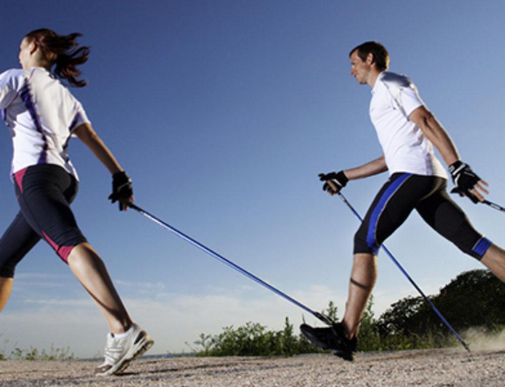 Nordic Walking – chodzenie z kijami