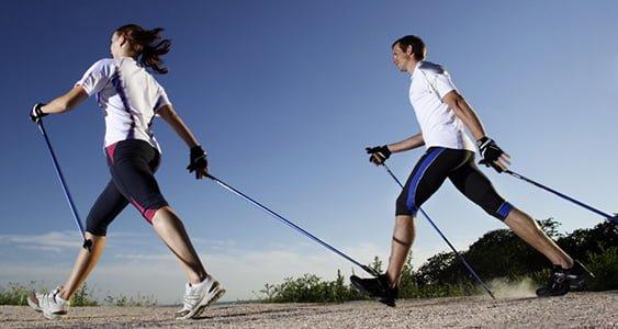 Nordic Walking - chodzenie z kijami