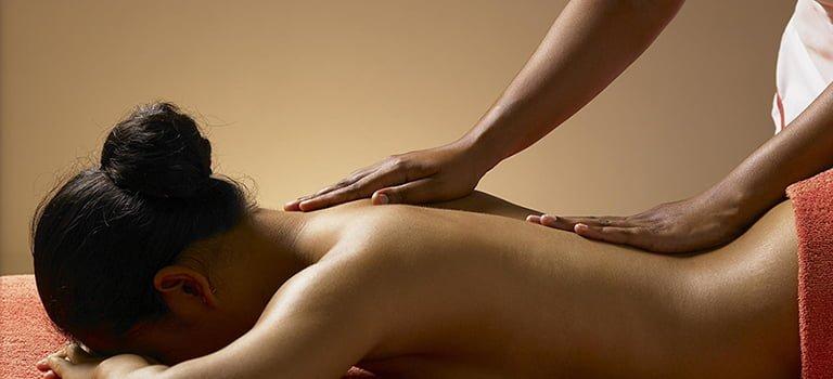 wpływ masażu