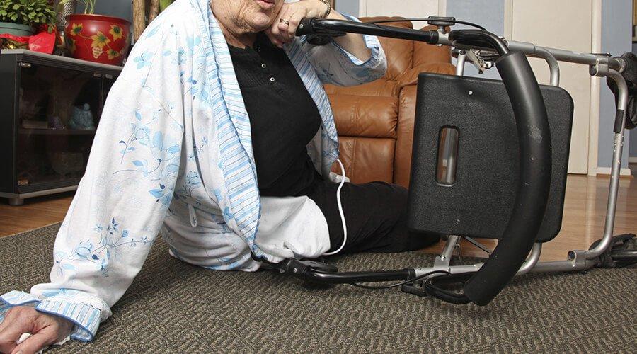 Upadek - wróg osób w starszym wieku