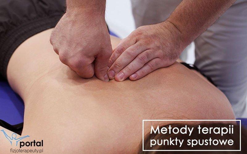 Metody terapii - punkty spustowe