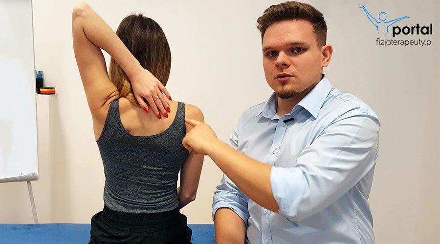 Szybki test do oceny złożonego ruchu w stawie (bark)