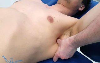 Masaż funkcyjny mięśnia podłopatkowego