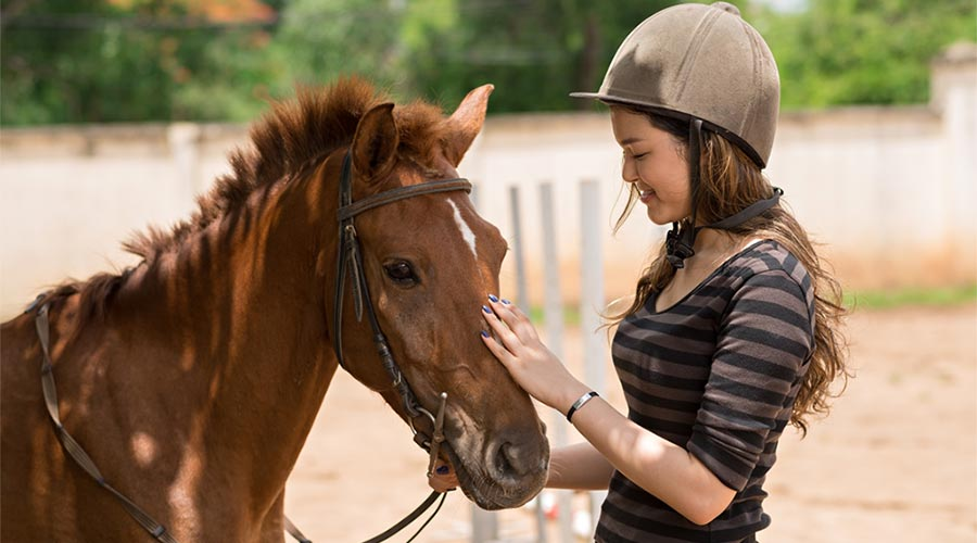 Hipoterapia - fizjoterapia przy udziale konia