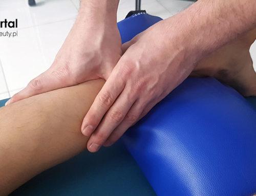 Masaż ścięgna Achillesa i łydki