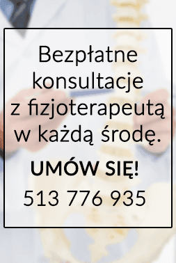 Bezpłatne konsultacje w Centrum Fizjoterapeuty
