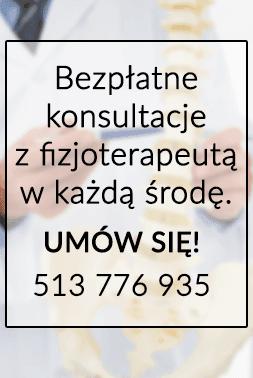Bezpłatne konsultacje w Centrum Fizjoterapeuty
