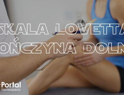 Skala Lovetta – kończyna dolna
