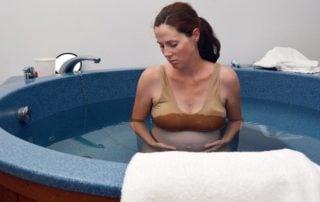 Poród w wodzie