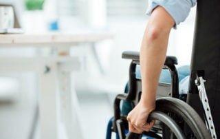 Nauka lokomocji na wózku inwalidzkim