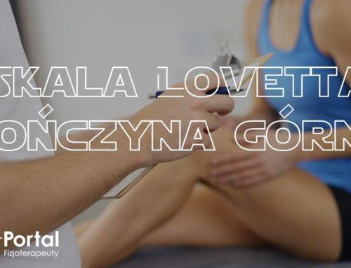 Skala Lovetta – kończyna górna