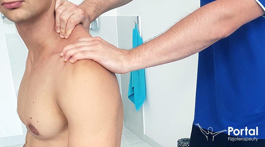 Neuropatia nerwu grzbietowego łopatki