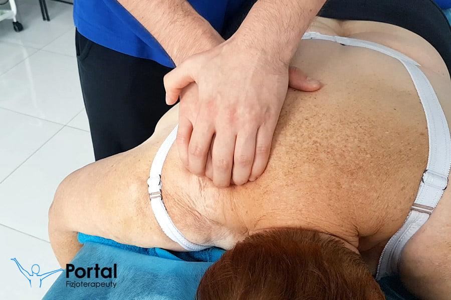Zerwanie ścięgna mięśnia nadgrzebieniowego