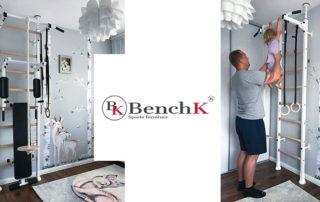 Certyfikowane drabinki gimnastyczne BenchK
