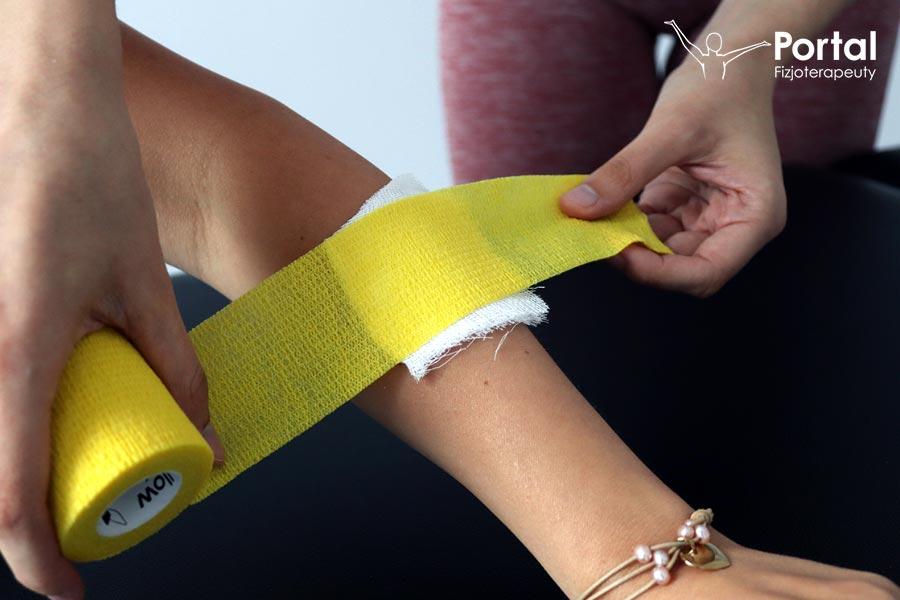 Bandaż kohezyjny yellowSPORT